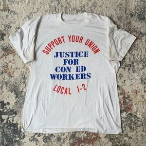 """Vintage """"Support Your Union"""" Tee"""